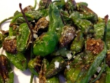 Okra and Padrons at The FlyTrap