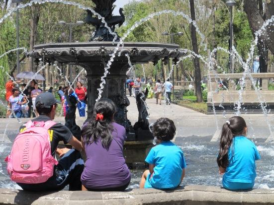 Family in Alameda Park
