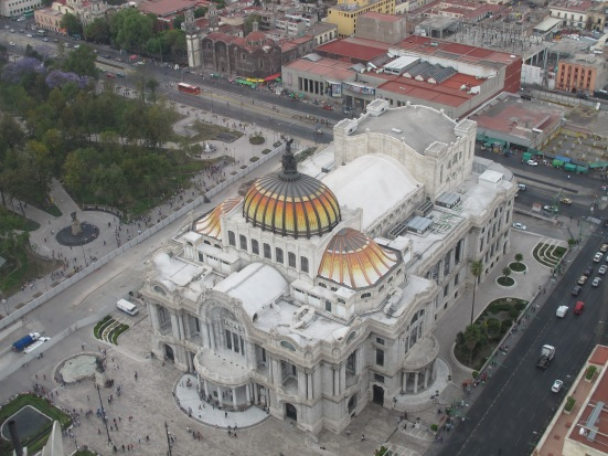 Palacio de Bellas Artes and Alameda Park
