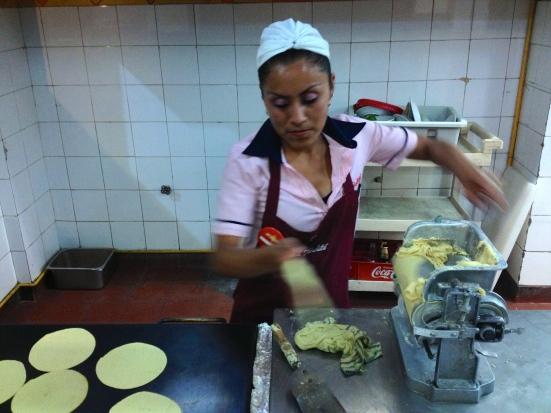 El Farolito tortillas
