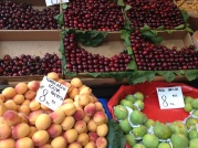 Cherries were in season. And everywhere.