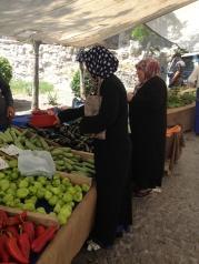 Istanbul farmers market.