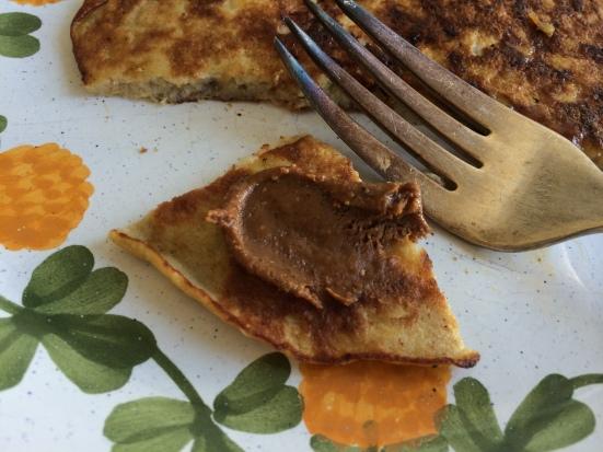 PB pancake bite