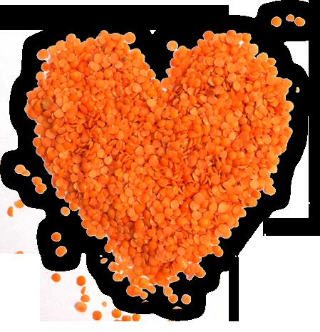 I heart lentils