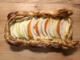 Cozy Apple, Pear and Persimmon Tart
