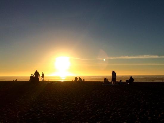 Saturday Sunset OB